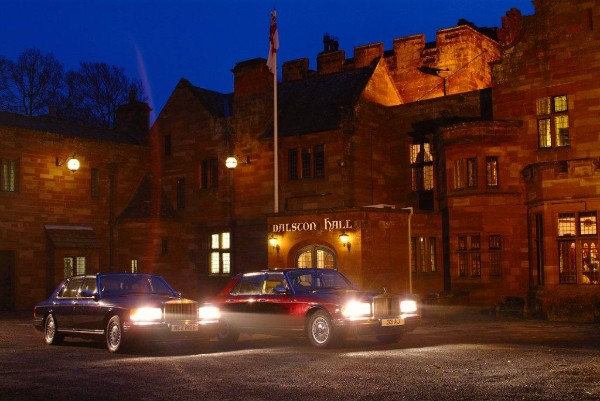 Dalston Hall Wedding Cars